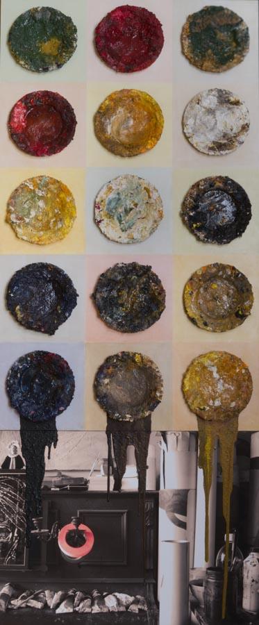 Quinze palettes 97x221cm